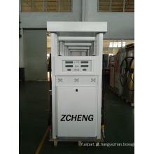 Zcheng White Colour Gasolina Estação Double Pump Fuel Dispenser