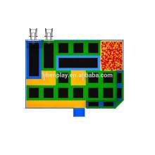 Trampoline Rectangle bon marché en usine