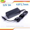 Externes batterieladegerät für asus 12v 3a 36w 4.8 * 1.7mm ac 100-240v laptop adapter
