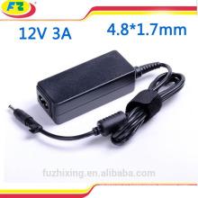 Внешнее зарядное устройство для ноутбука Asus 12v 3a 36w 4.8 * 1.7mm ac 100-240v