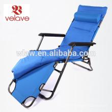 padded sun lounger chair