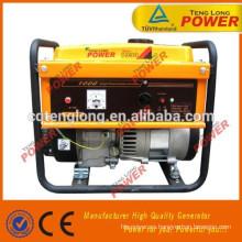 generador de gasolina 1000w portátil para la venta