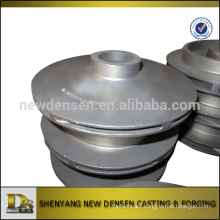 Customized investment casting stainless steel closed impeller