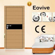 Caliente venta de madera Italia puertas diseño