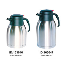 Stainless Steel Double Wall Vacuum Coffee Pot Europe Style