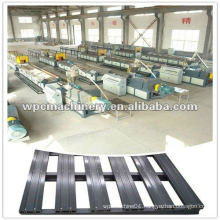 WPC/PP/PE Flooring Profile Production Line