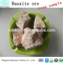 85-90% Prix de la bauxite calcinée de haute qualité