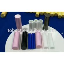 Tubos de varilla de cerámica de zirconia de color rosa Tubo de cerámica de alúmina de rodillo de pin