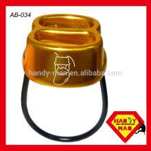 ATC Alumínio Forjado, Corda de 8-11mm, Dispositivo Belay de Tração Dupla
