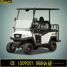 4 Seater Electric Golf Shopping Cart with Flip-Flop Seat