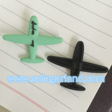 Wholesale Lovely Airplane Metal Beads Charms For Jewelry Making