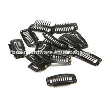 Fashion High Quality Metal Stainless Steel Hair Snap Clips