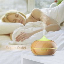 Siêu âm Rainbow Air Purifier Oil Diffuser