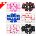 Hot sale Kids knee and elbow pads. kids knee pads 6 pcs suit ski skate protector wholesale Kids knee and elbow pads. kids knee pads 4 pcs suit kids pads