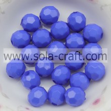 High Quality Cheapest Crystal Faceted Beads Glass Faceted Beads 4MM Blue Color