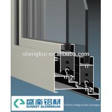 838 Sliding Windows Powder Coating Aluminum Profiles Aluminum Extrusions