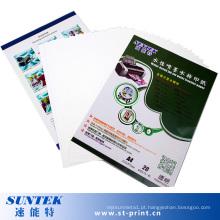 Papel de transferência de água transparente Inkjet Hydro para canecas