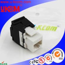 De alta calidad fácil de instalar sin herramientas Cat6 Cat7 UTP RJ45 keystone jack