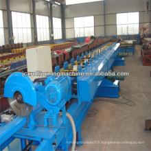 , Mitsubishi PLC Hydraulic Cutting Downspout machine de formage de tuyaux