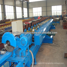 , Mitsubishi PLC Hydraulic Cutting Downspout pipe forming machine