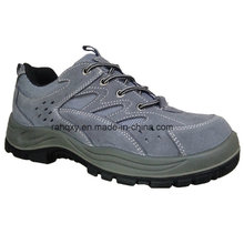 Sport Style Grey Suede Safety Shoes (S05001)