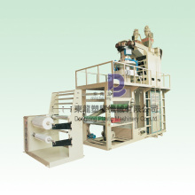 Two Layer PP/LDPE/LLDPE Plastic Film Blowing Machinery