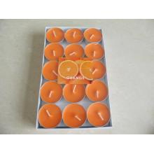 Velas de candelita de lujo naranja soja