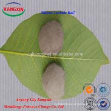 Bola del silicio Briquette Sic del silicio el 90%, 85%, el 60%, el 45% del fabricante de China
