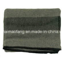Woven Woolen Cheap Price Polyester Military Blanket (NMQ-AB019)