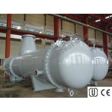 Condensador de líquido químico en intercambiador de calor