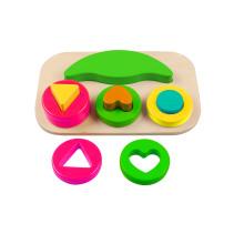 Holzform Block Puzzle Sortierer Spielzeug für Kinder und Kinder