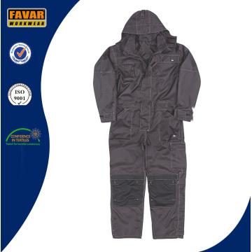 Poliéster Oxford preto impermeável Coverall Workwear