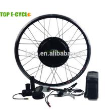 28 pulgadas 48 V 1000 W fácil montar el kit eléctrico de la bicicleta del motor sin escobillas de la rueda para bicicletas eléctricas