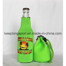 New Design Custom Professional Neoprene Bottle Holder, Bottle Cooler Bag