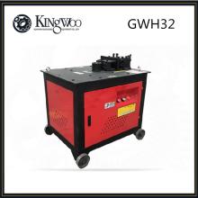 GWH32 tipo máquina de curvatura de acero 4KW dobladora