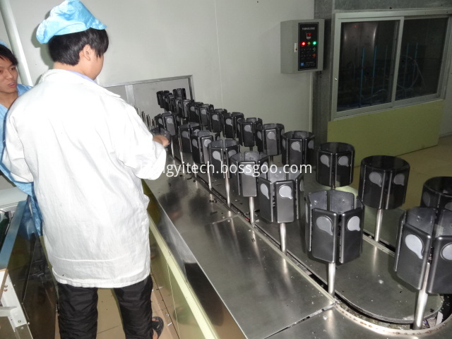 Clean Shop Automatic Spraying Line