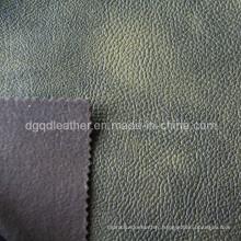 Fashion Design Breathable PU Furniture Leather (QDL-FB0013)