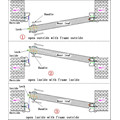 2050*960*50mm Commercial Steel Security Door KKD-309 for Iran