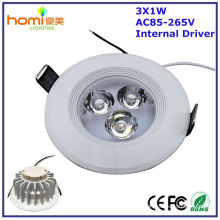 Luz de teto de LED 3W