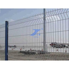 Hot Sale PVC Coated 3 Curved Fence for Airport Security