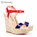 BRANDED BEAUTIFUL GIRLS WEDGES HEEL SANDALS SHOES