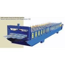 Machine à former le rouleau de carte à conteneur 1220