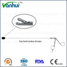 Lumbar Transforaminal Endoscopy Instruments Cup Head Nucleuc Forceps