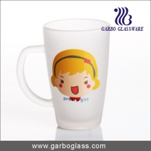 Decal Glass Mug/Cup, Printed Glass Mug/Cup, Imprint Glass Mug (GB094212-DR-114)