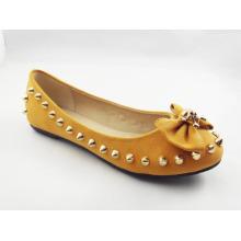 Neue Stil Frauen Kleid flache Schuhe (HCY03-133)