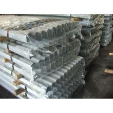 precio de hojas de acero cubierta metálica por hoja