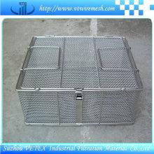 Heat-Resisting Stainless Steel Wire Mesh Basket
