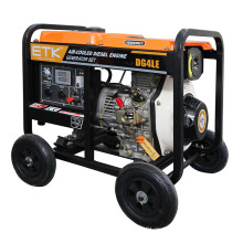 4kw Niedriger Kraftstoffverbrauch Diesel Generator Set (Open Type)