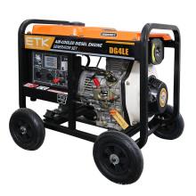 4kw Consumo de combustible bajo Diesel Generator Set (Open Type)