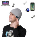 Bluetooth Beanie Hat Beanie Écouteurs Bluetooth